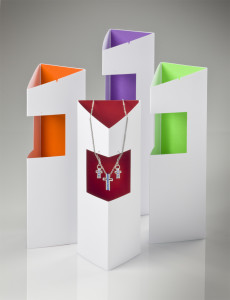 Trinity Cross Collection, point-of-purchase displays.